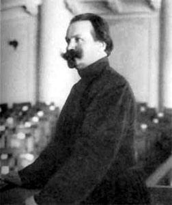 Н.Е.Марков на трибуне в Государственной Думе