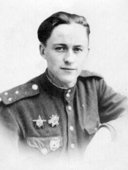 М.А.Смирнов в 1945 году