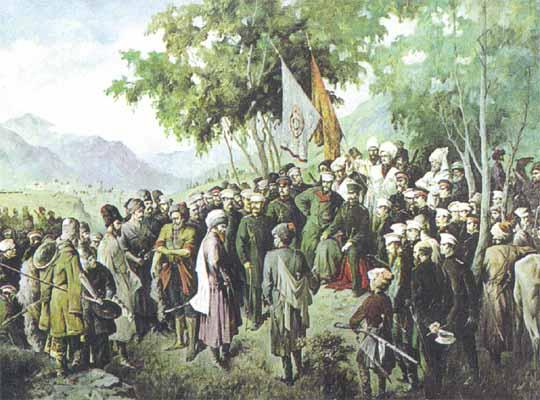 Пленение Шамиля в ауле Гуниб