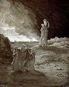 После сожжения Содома