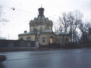 Скорбященская церковь, подворье Свято-Троицкого Зеленецкого монастыря