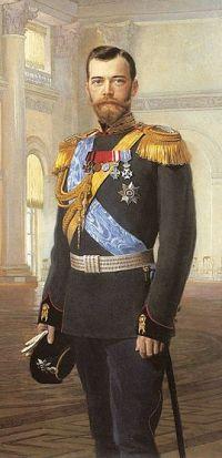 Император Николай II Александрович (худ. Э.Липгарт)