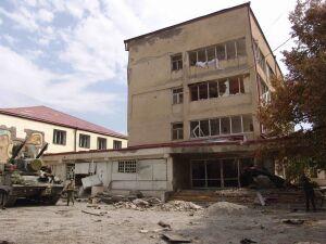 Цхинвал, август 2008
