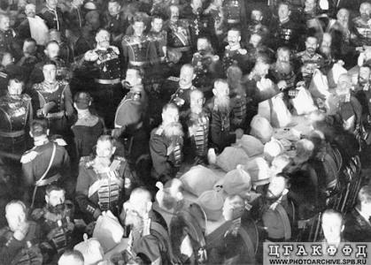 Праздник в честь Георгиевских кавалеров в зале Народного дома Императора Николая II