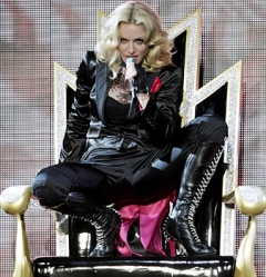 певица-кощунница *Мадонна*