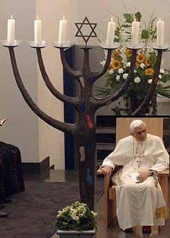 Папа в синагоге