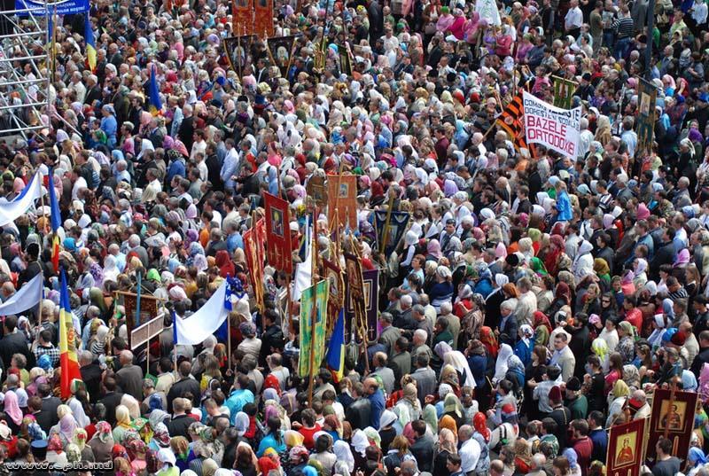 Собрание православных Молдавии 8 мая 2010 г.