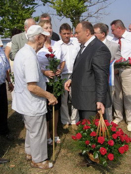 Ветеран  Анатолий Панин