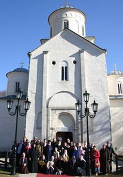 Детско-юношеский хор прп.Иоанна Дамаскина (регент - И.Болдышева) в Сербии. 2008 г.