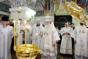 Патриарх Кирилл. 18 января 2011 г.