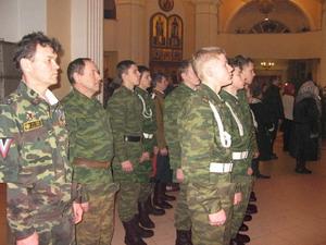 Военно-патриотического клуб :Отчий край:. Зимние сборы - 2011