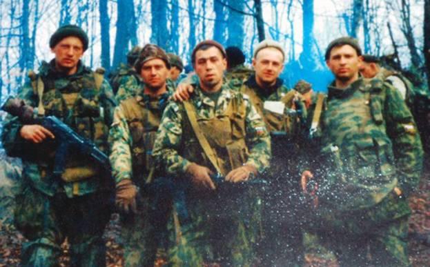Бойцы Шестой роты псковских десантников