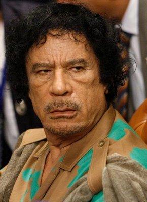 М.Каддафи