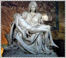 Микеланджело. Пиета. 1499 г. Собор Святого Петра. Ватикан.