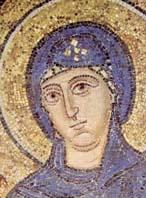 Богоматерь. Мозаика Софийского собора. Киев. XI в.