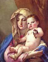 Дж.Б. Тьеполо. Мадонна со щегленком.1506 г.