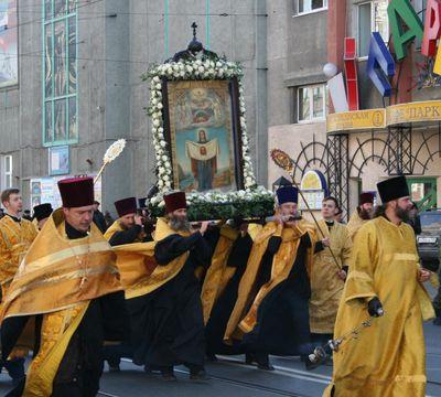 Крестный ход во Владивостоке