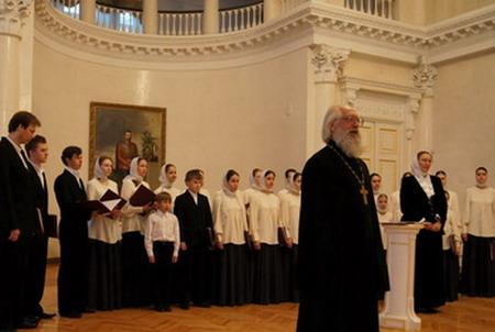 О.Андрей Логвинов с хором