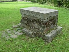 Постамент главного памятника