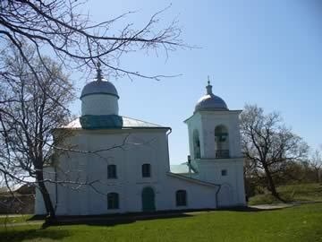 Никольский храм Изборска