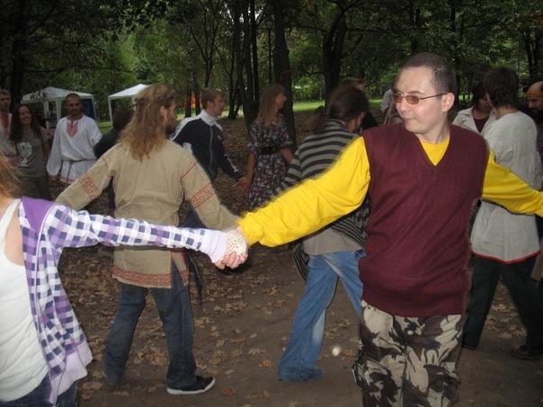 Празднование Дня города Москвы 4.09.2011 г.