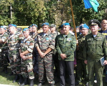 Десантиники прибыли со всех концов России, Украины, Белоруссии