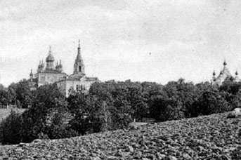 Короцкий Тихвинский монастырь. Начало ХХ века