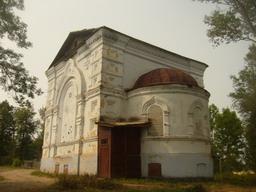 Бывшая Варваринская церковь Тихвинского монастыря