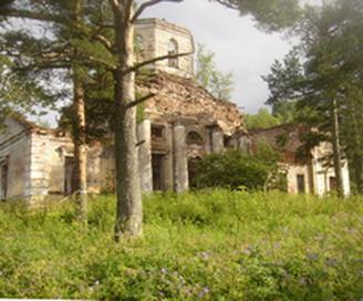 Бывшая Покровская церковь с.Короцко