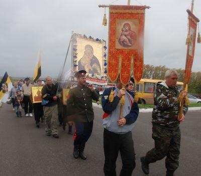 Крестный ход на Куликово поле - 2011