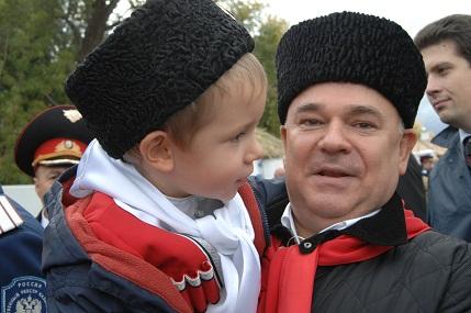 Международный фестиваль *Казачья станица Москва*