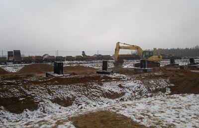 К началу строительства все готово