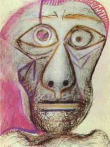 П.Пикассо. Автопортрет