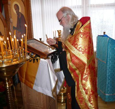 Пред образом Царя-Мученика Николая