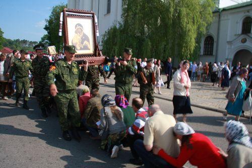 Крестный ход, Белоруссия, 2012