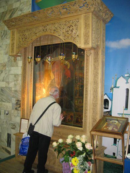 На Троицкой православной выставке