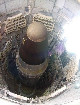 Ракетный комплексВоевода в пусковой шахте