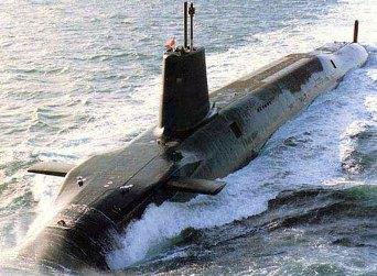 Английская подводная лодка-ракетоносец класса Вэнгард