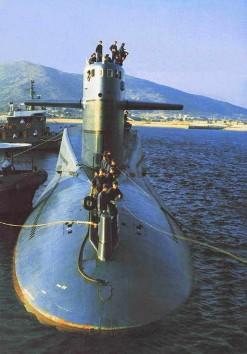 Подводная лодка старого проекта 092 Ся