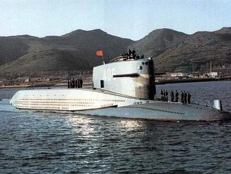 Подводная лодка нового проекта 094 Цзинь