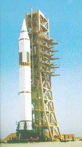 Китайская межконтинентальная ракета CSS-4