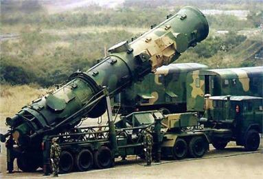 Ракета ДФ-21 средней дальности