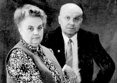 О. Н. Трубачёв и Г. А.Богатова