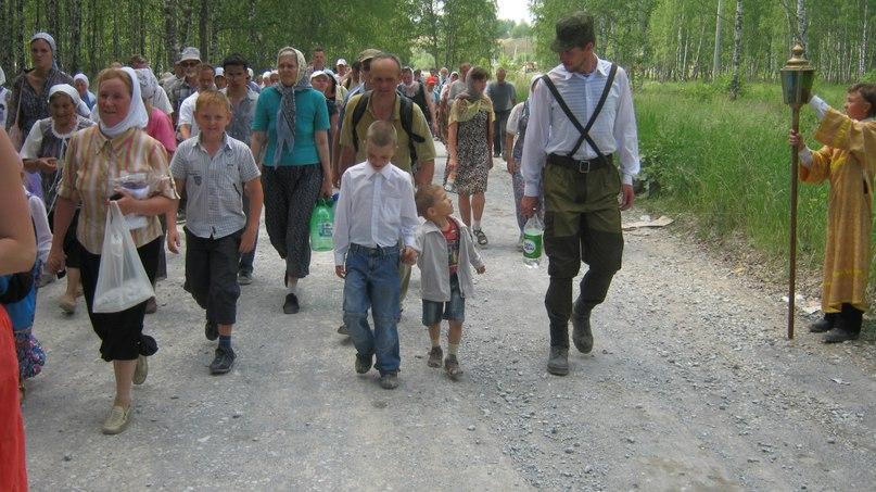 Крестный ход в Бердске