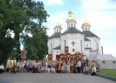 11.Боголюбский Крестный ход-2012