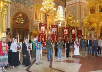 16.Боголюбский Крестный ход-2012