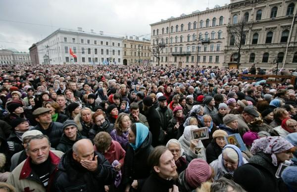 естный ход в Санкт-Петербурге, 4.11.2012, фото *Российской газеты*