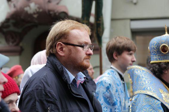 Крестный ход в Санкт-Петербурге, 4.11.2012