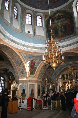 Интерьер Знаменского собора
