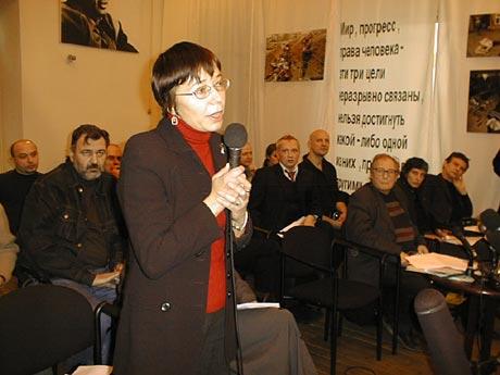 На пресс-конференции 21 января 2003 года та самая Анна Альчук.jpg